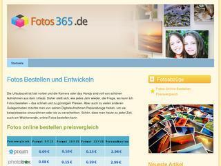 Fotos 365.de & Bilder Entwickeln Lassen