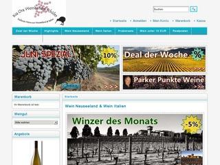 Kia Ora Weinhandel - Wein Neuseeland