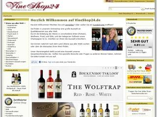 VineShop24 - Qualitätsweine aus aller Welt