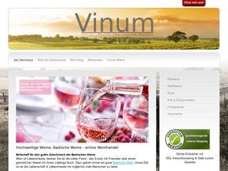 Badische Weine im Online Weinhandel – vinum-weine.de